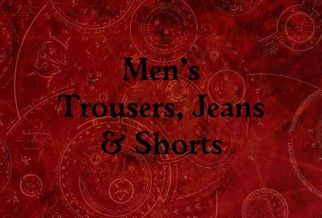 Men's Trousers, Jeans & Shorts