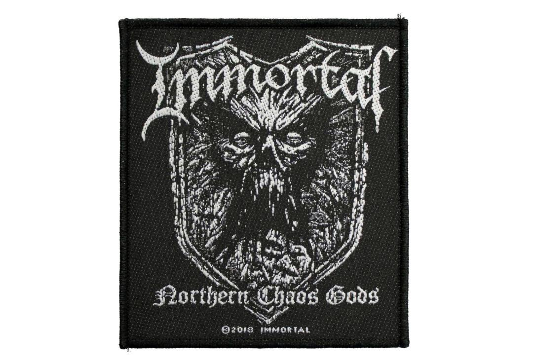 Official Band Merch | Immortal - Northern Chaos Gods Woven Patch