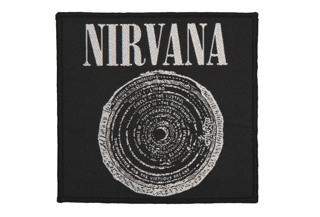 Official Band Merch | Nirvana - Vestibule Woven Patch