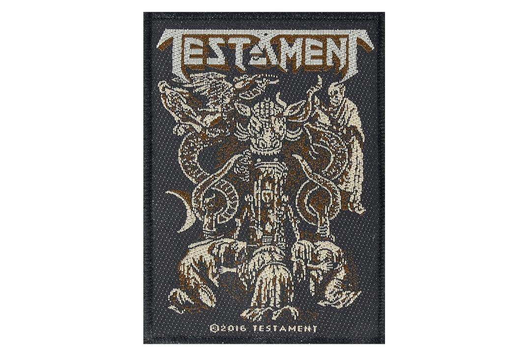 Official Band Merch | Testament - Demonarchy Woven Patch