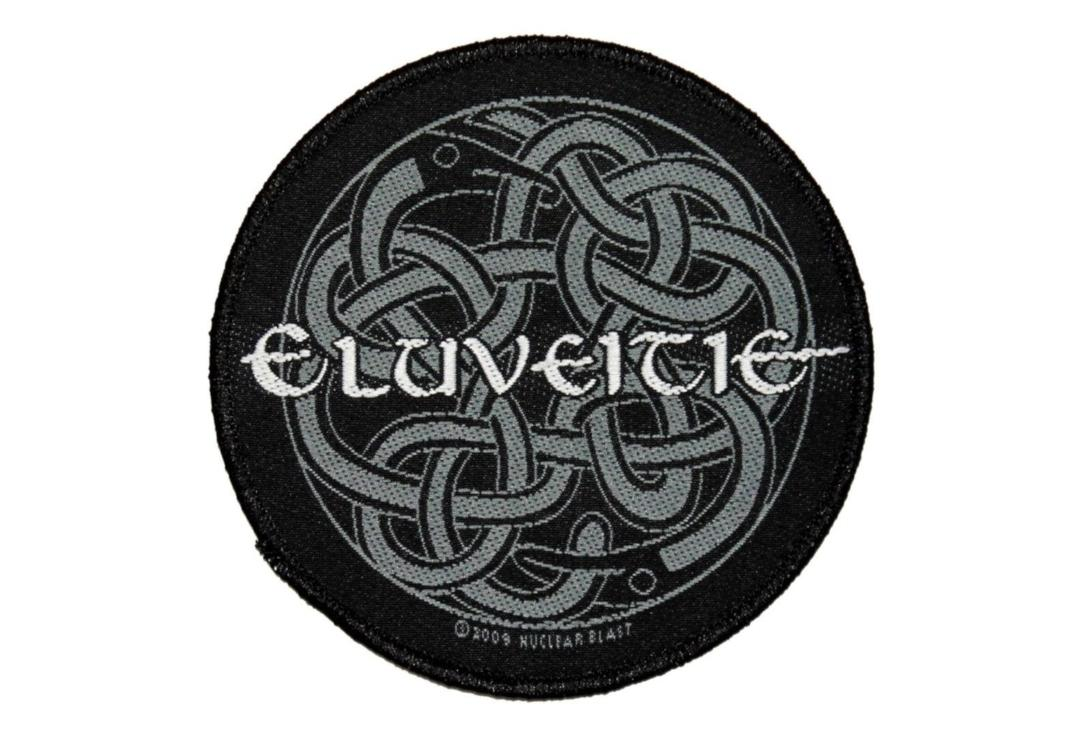 Official Band Merch | Eluveitie - Celtic Knot Woven Patch