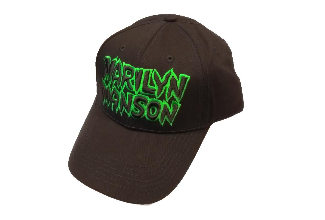 Official Band Merch | Marilyn Manson - Logo Baseball Cap