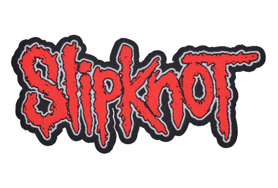 Official Band Merch | Slipknot - Cut Out Logo Woven Patch