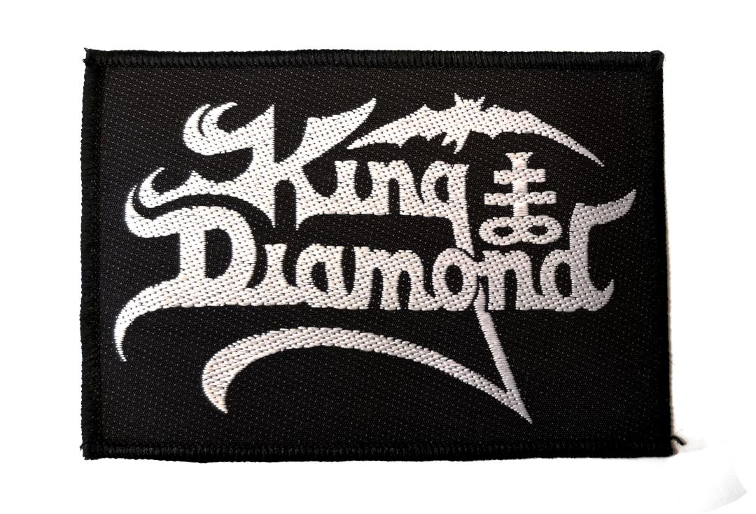 Official Band Merch |   King Diamond -  Logo Woven Patch