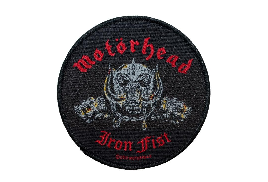 Official Band Merch | Motorhead - Iron Fist Warpig Woven Patch