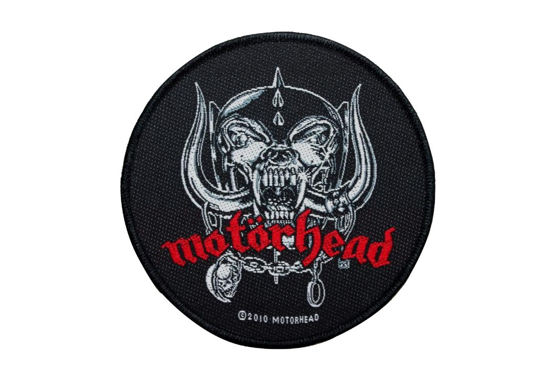 Official Band Merch | Motorhead - War Pig Round Woven Patch