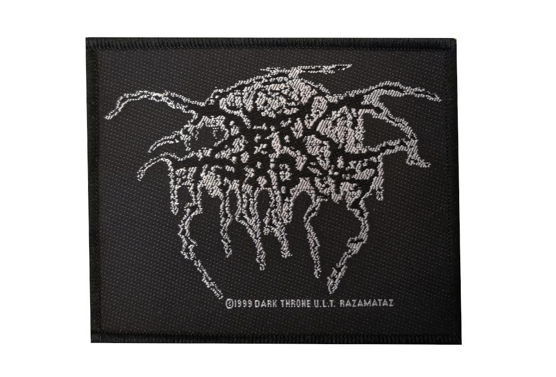 Official Band Merch | Darkthrone - Logo Woven Patch