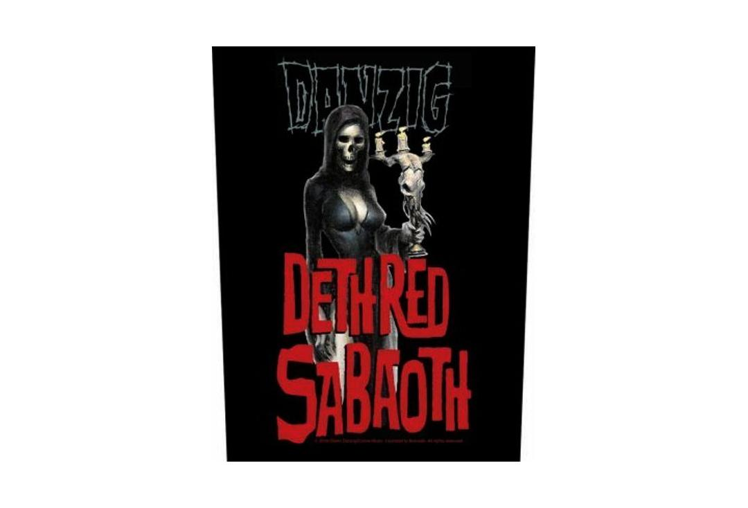 Official Band Merch | Danzig - Dethred Sabaoth Printed Back Patch