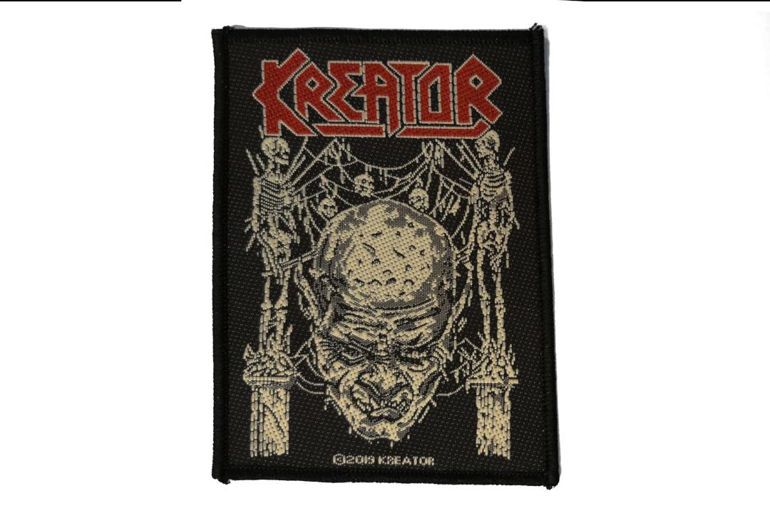Official Band Merch | Kreator - Skull & Skeletons Woven Patch