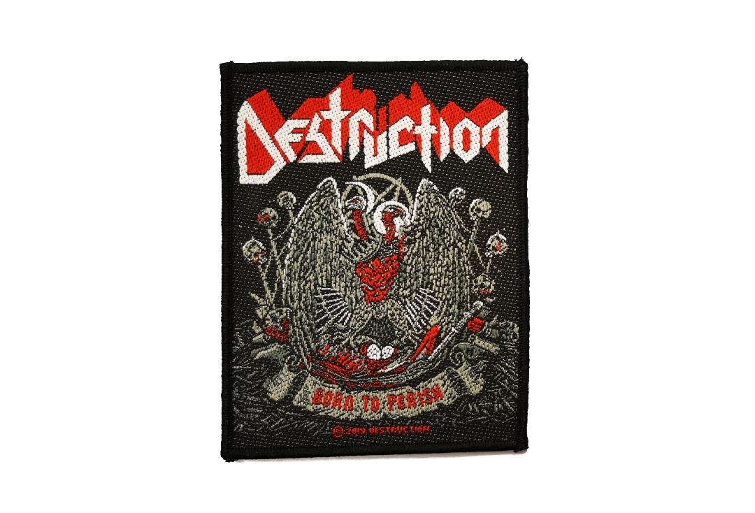 Official Band Merch | Destruction - Born To Perish Woven Patch