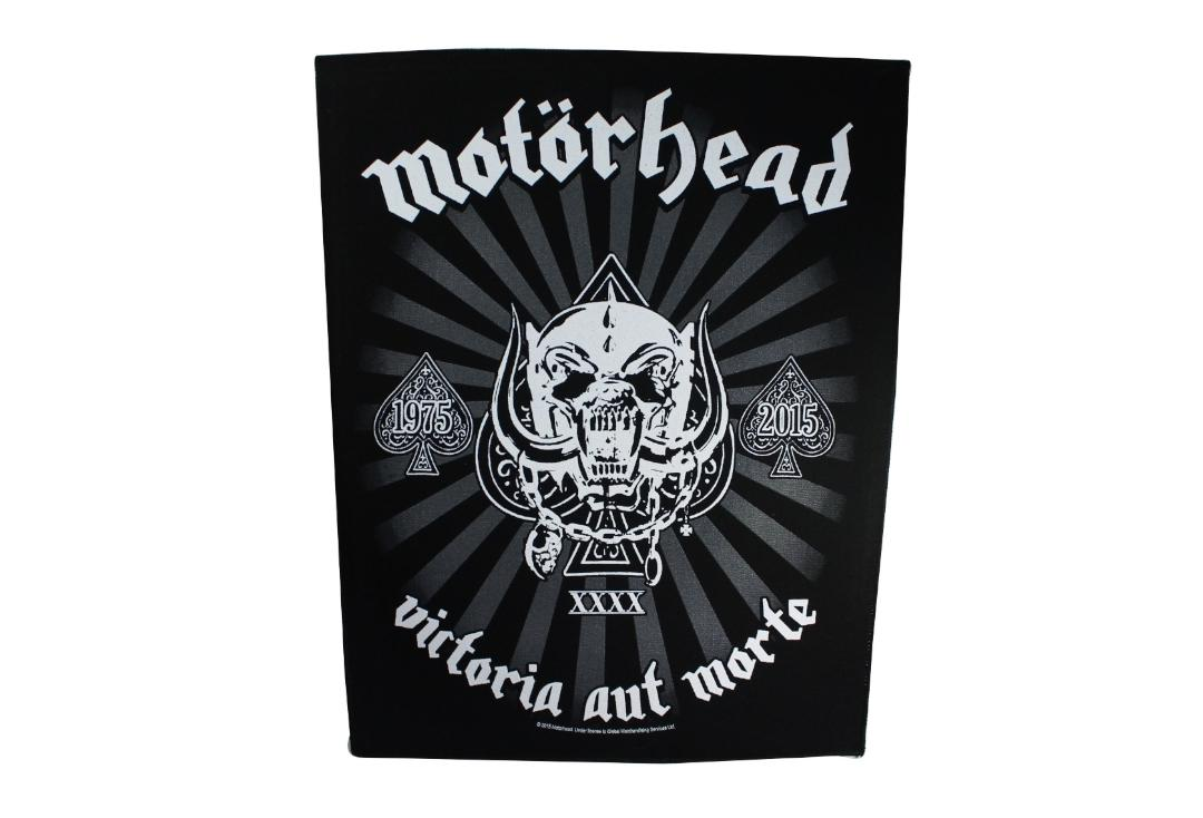 Official Band Merch | Motorhead - Victoria Aut Morte Printed Back Patch