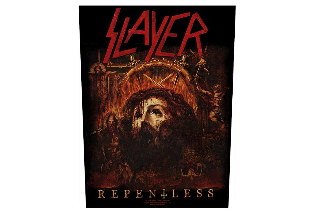 Official Band Merch | Slayer - Repentless Printed Back Patch