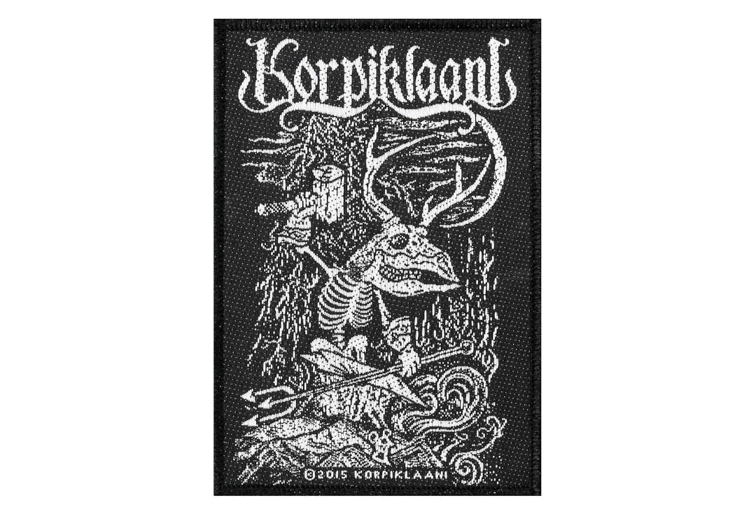 Official Band Merch | Korpiklaani - Blacksmith Woven Patch