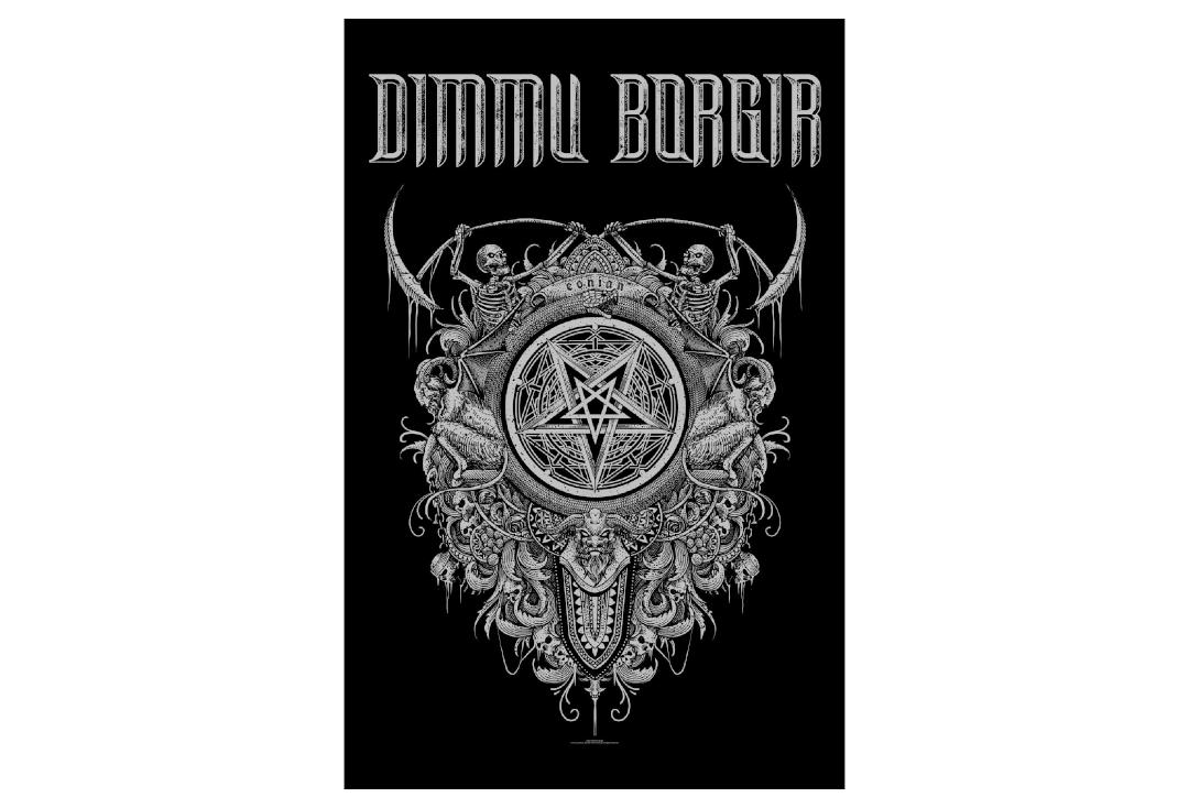 Official Band Merch | Dimmu Borgir - Eonian Printed Textile Poster