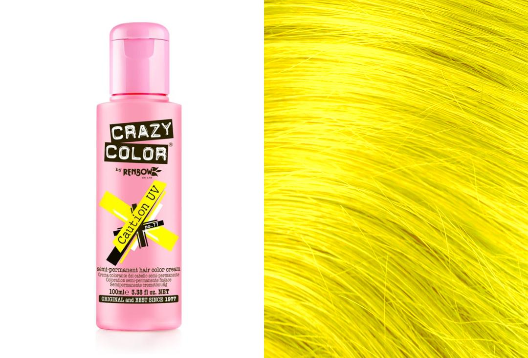 Renbow | Crazy Color Semi-Permanent Hair Colour (077 Caution UV)