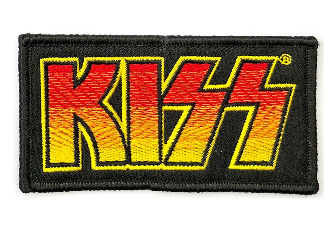Official Band Merch | Kiss - Classic Logo Woven Patch