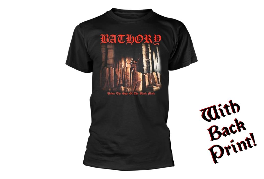 Official Band Merch | Bathory - Under The Sign Men's Short Sleeve T-Shirt - Front