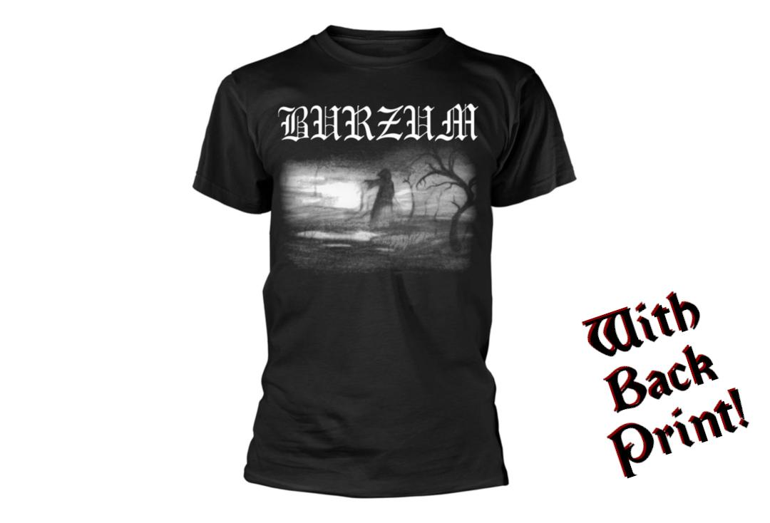 Official Band Merch | Burzum - Aske 2013 Men's Short Sleeve T-Shirt - Front