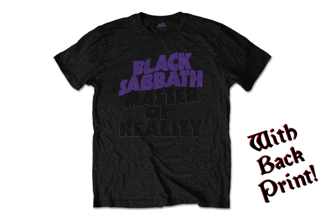 Official Band Merch | Black Sabbath - Masters Of Reality Men's Short Sleeve T-Shirt - Front