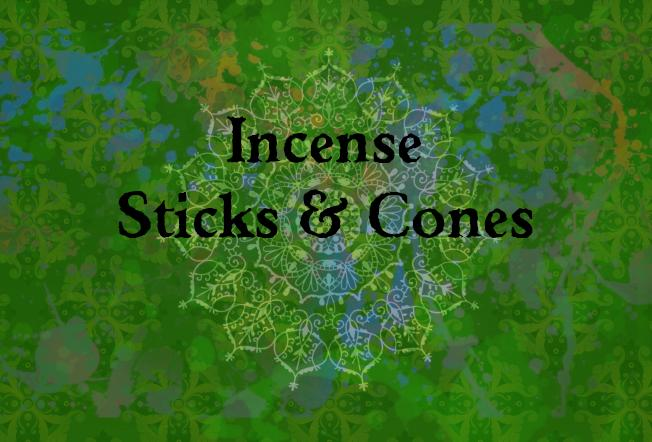 Incense Sticks & Cones