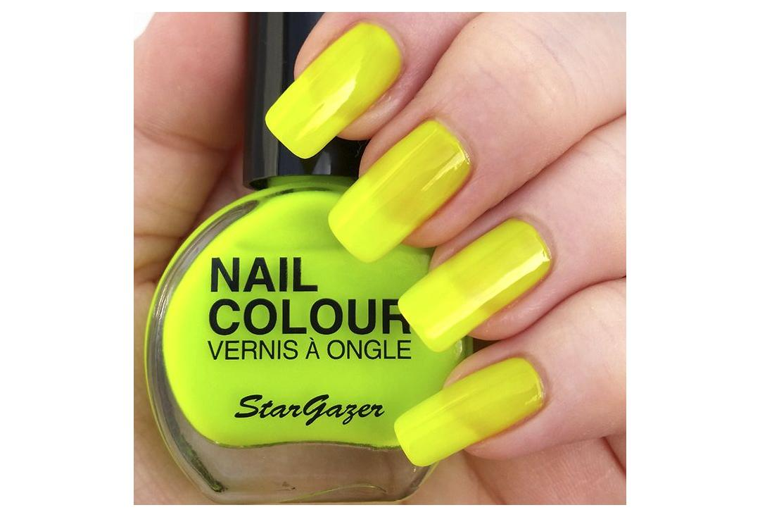 Stargazer | Yellow Neon Nail Polish