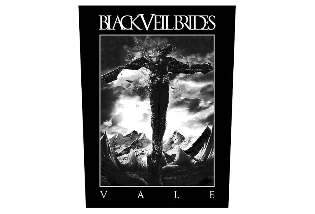 Official Band Merch | Black Veil Brides - Vale Printed Back Patch