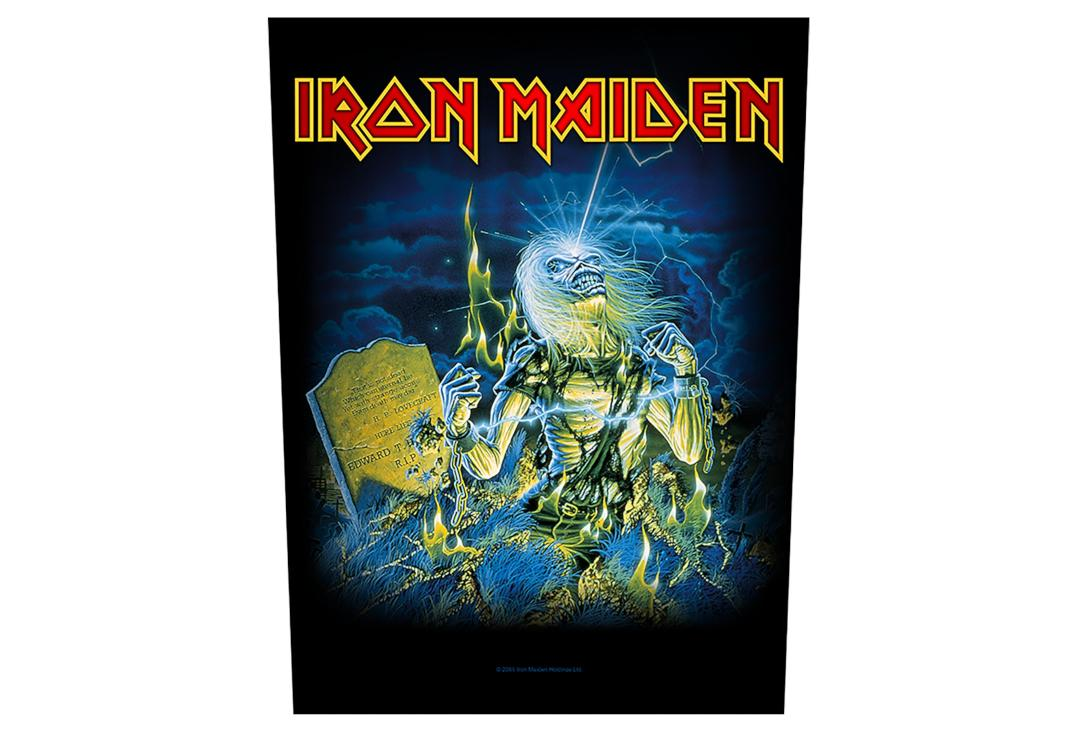 Official Band Merch | Iron Maiden - Live After Death Printed Back Patch