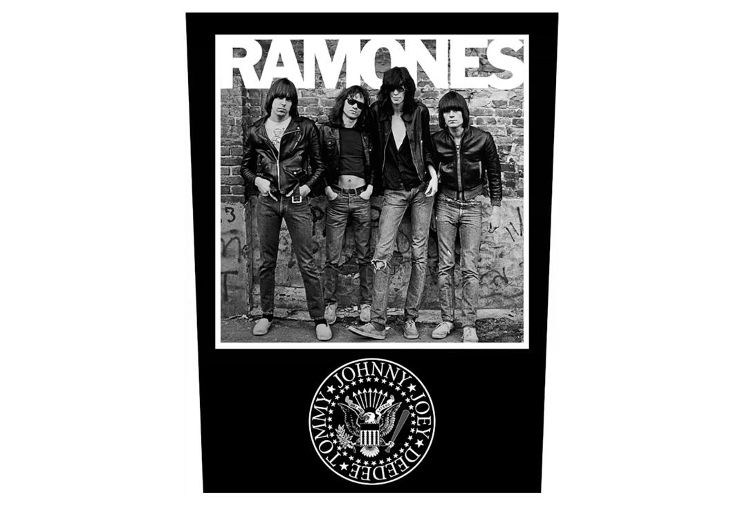 Official Band Merch | Ramones - 1976 Printed Back Patch