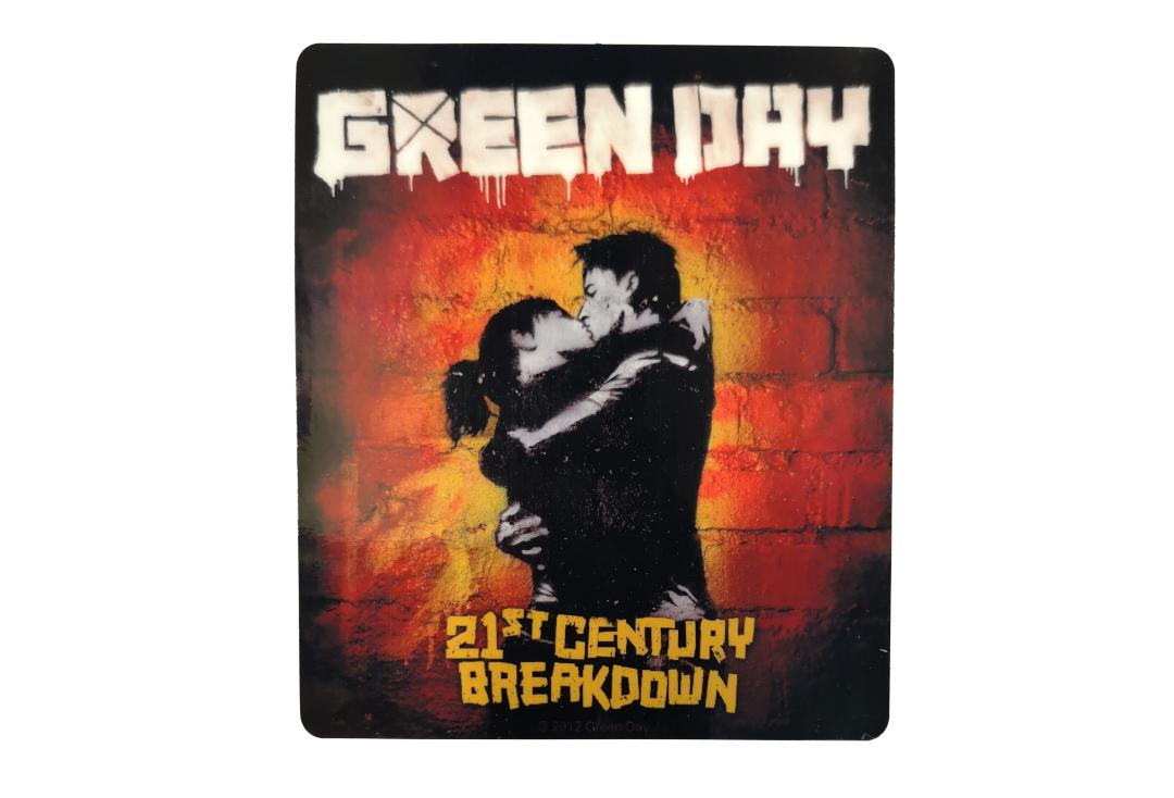 Official Band Merch | Green Day - 21st Century Breakdown Vinyl Sticker