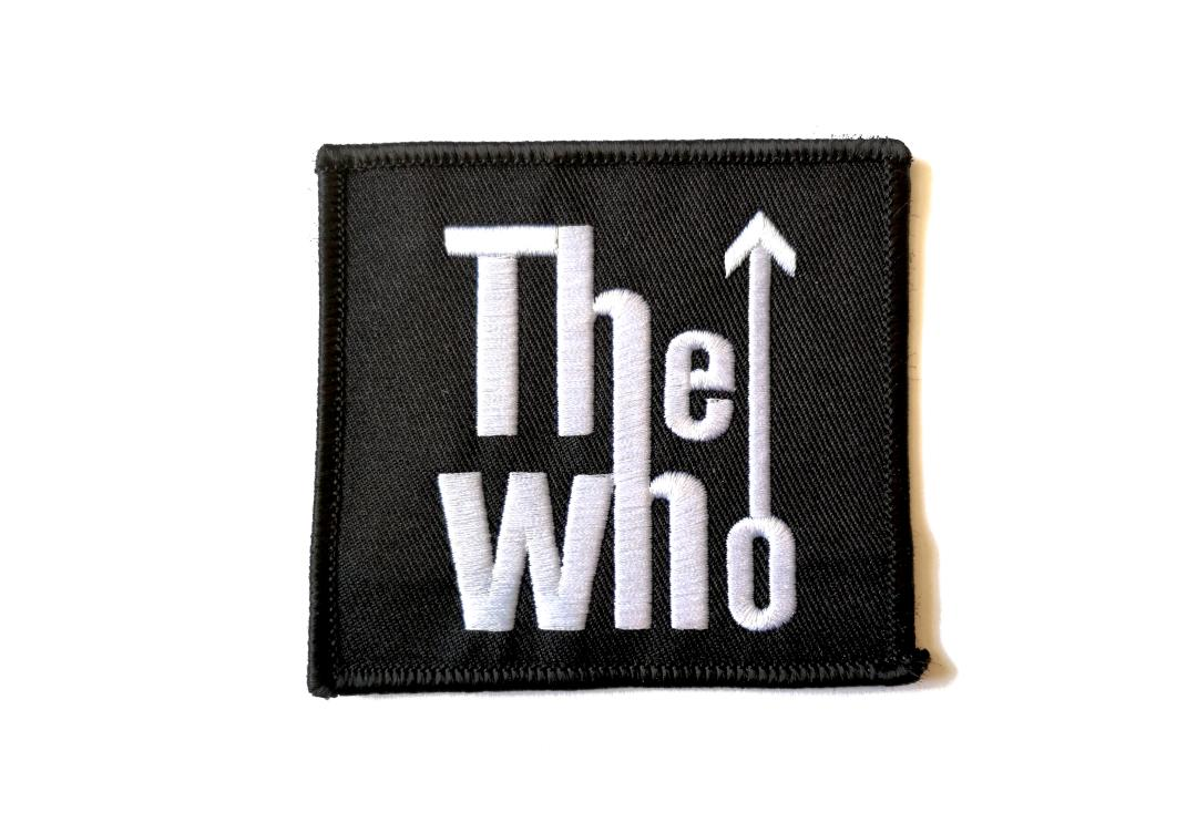 Official Band Merch | The Who - Arrow Logo Woven Patch