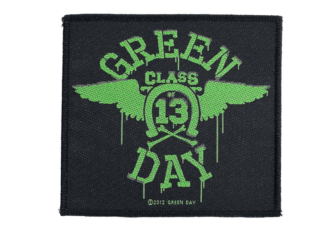 Official Band Merch | Green Day - Neon Wings Woven Patch