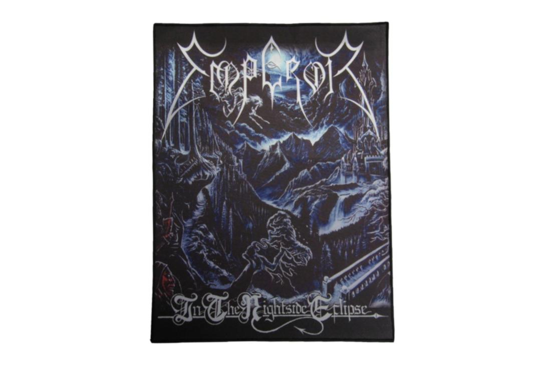 Official Band Merch | Emperor - In The Nightside Eclipse Printed Back Patch