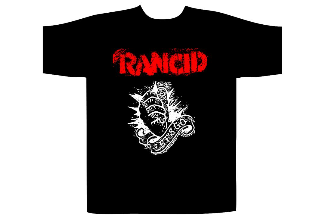 Official Band Merch | Rancid - Let's Go Official Men's Short Sleeve T-Shirt