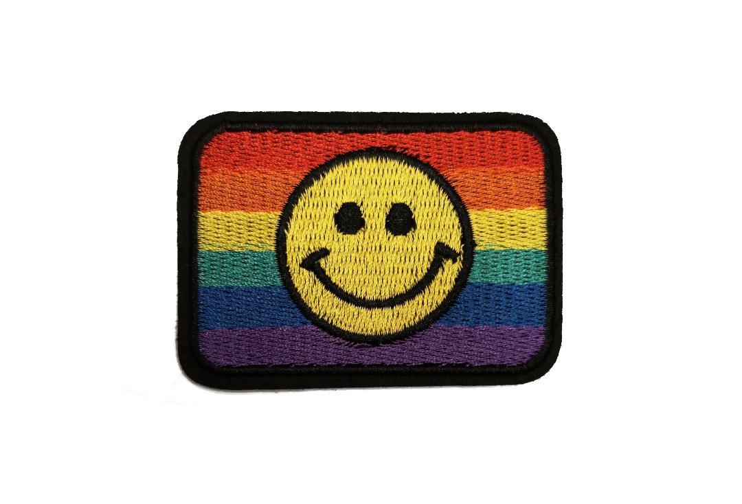 Void Clothing | Pride Rainbow Smiley Flag Woven Patch