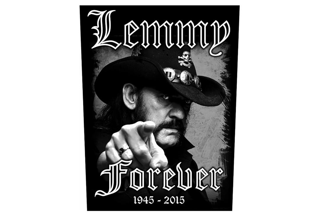 Official Band Merch | Lemmy - Forever Printed Back Patch