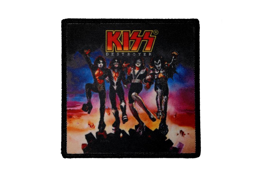 Official Band Merch | Kiss - Destroyer Album Cover Woven Patch