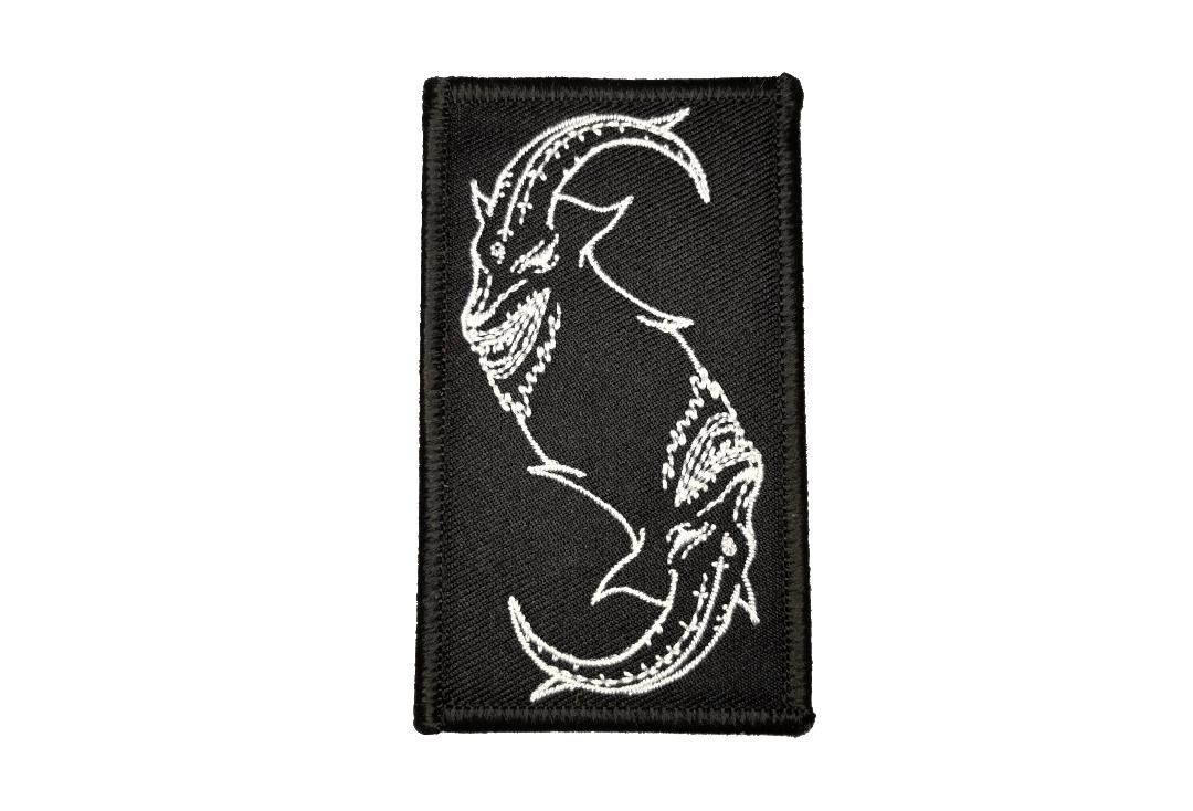Official Band Merch | Slipknot - Goat Outline Woven Patch Woven Patch