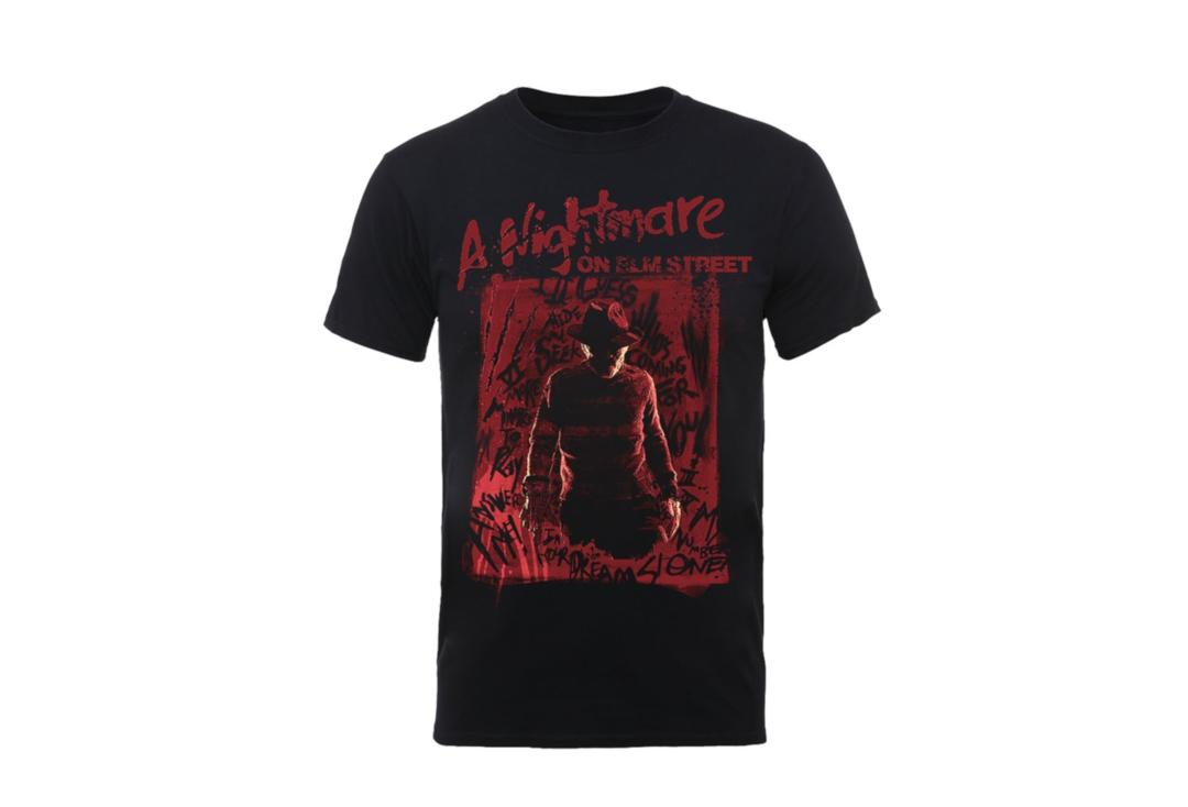 Official Film & TV Merch | A Nightmare On Elm Street - Freddy Silhouette Men's Short Sleeve T-Shirt