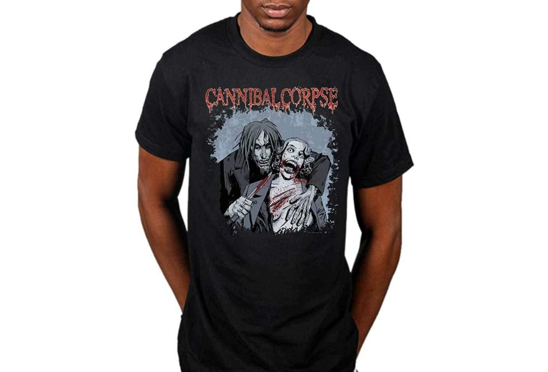Official Band Merch | Cannibal Corpse - Cauldron Of Hate Official Men's Short Sleeve T-Shirt