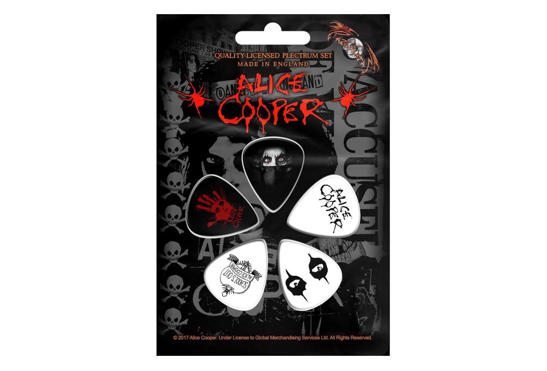 Official Band Merch | Alice Cooper - Eyes Official Plectrum Pack