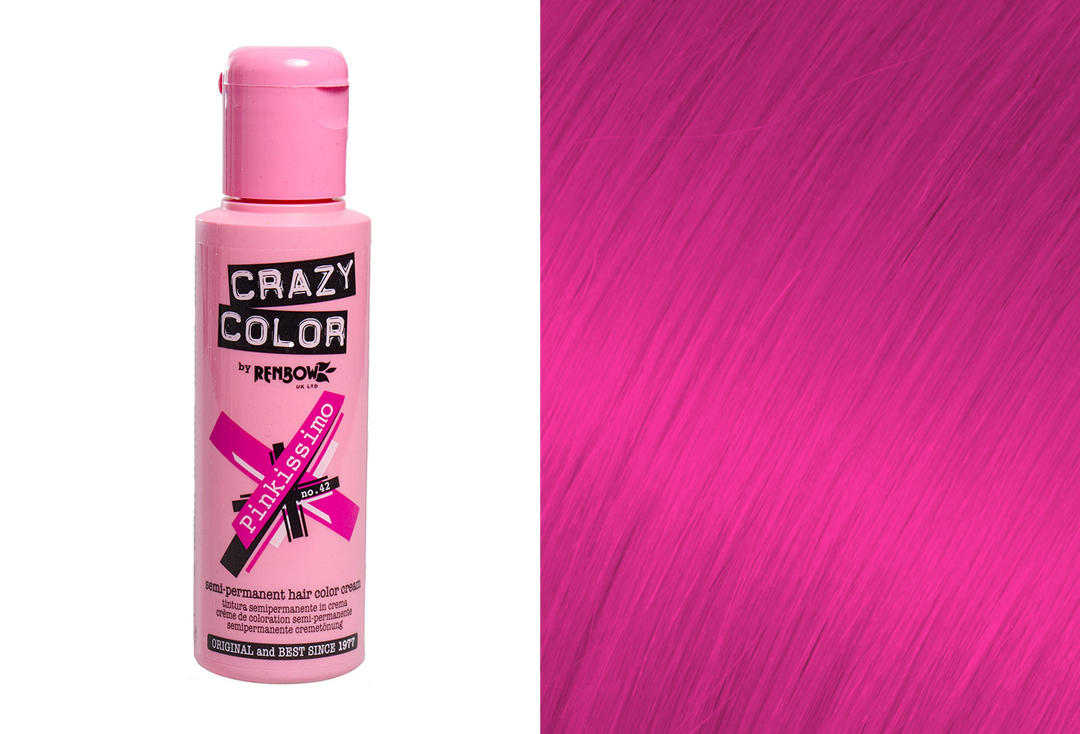 Renbow | Crazy Color Semi-Permanent Hair Colour (042 Pinkissimo)