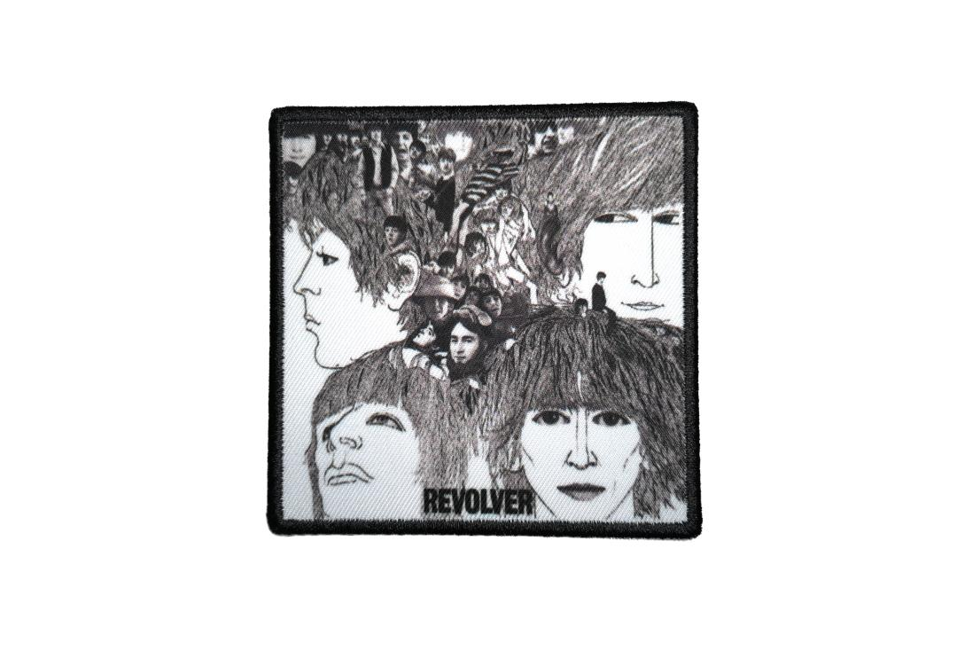 Official Band Merch | The Beatles - Revolver Album Cover Woven Patch