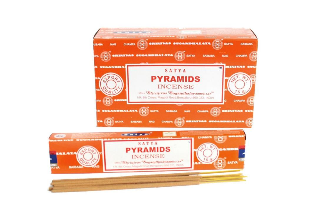 Satya | Pyramids Incense Sticks