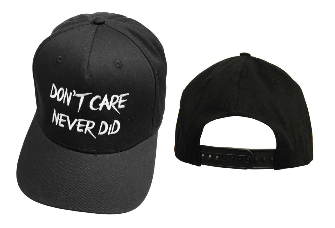 Darkside | Don't Care Snapback Baseball Cap - Front & Back