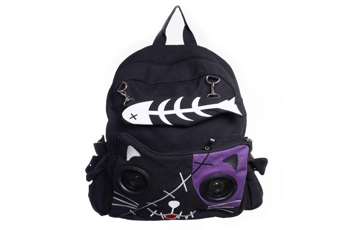 Banned | Purple Kitty Speaker Bag
