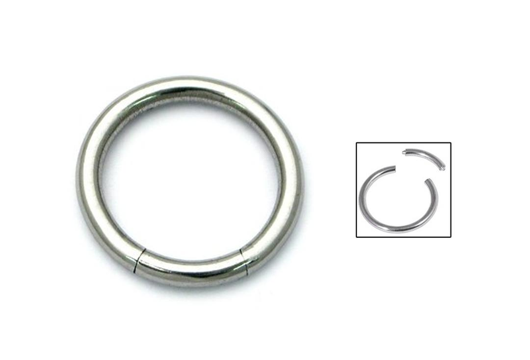 Body Jewellery | Surgical Steel Smooth Segment Ring