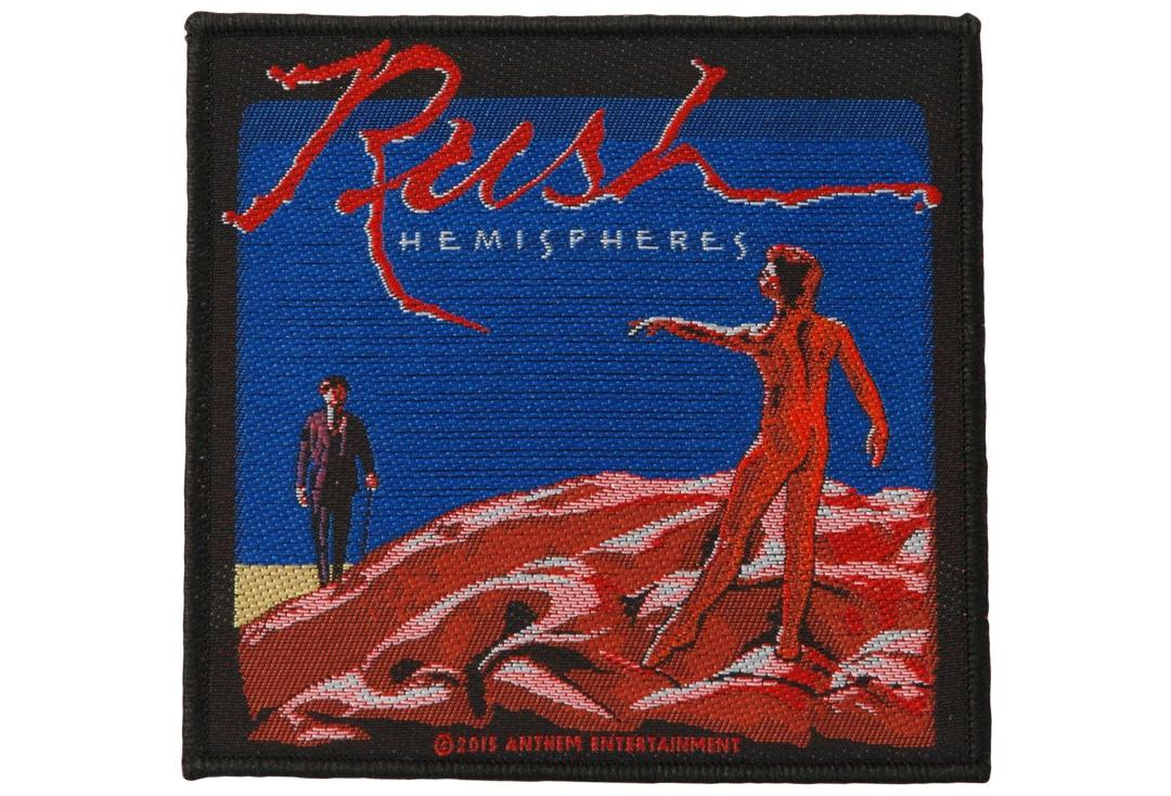 Official Band Merch | Rush - Hemispheres Woven Patch