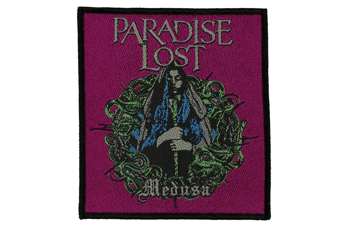 Official Band Merch | Paradise Lost - Medusa Woven Patch