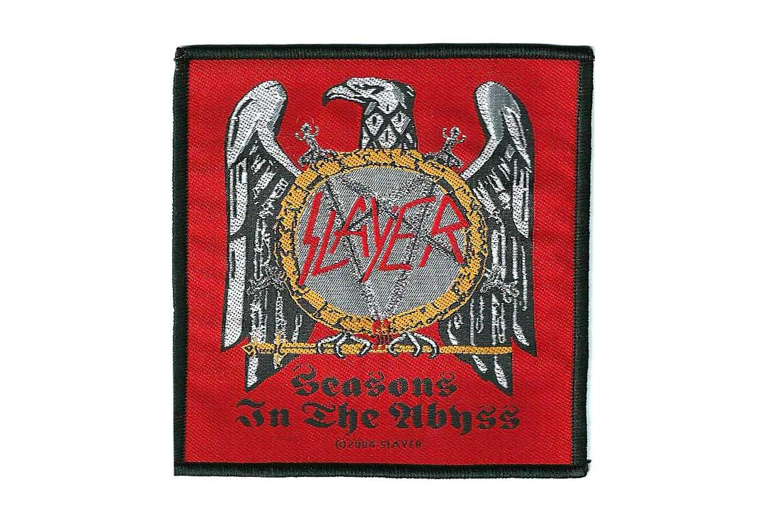 Official Band Merch | Slayer - Seasons In The Abyss Woven Patch