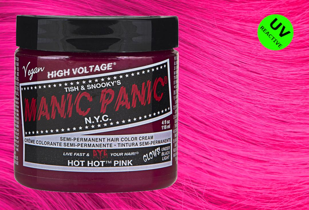 Manic Panic | Hot Hot Pink High Voltage Classic Cream Hair Colour